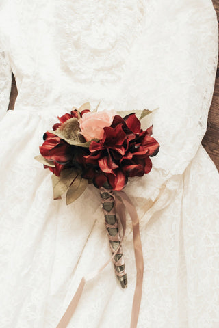 Victorian Bridesmaid Bouquet