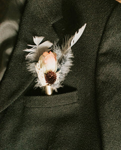 Custom Boutonniere - Groom