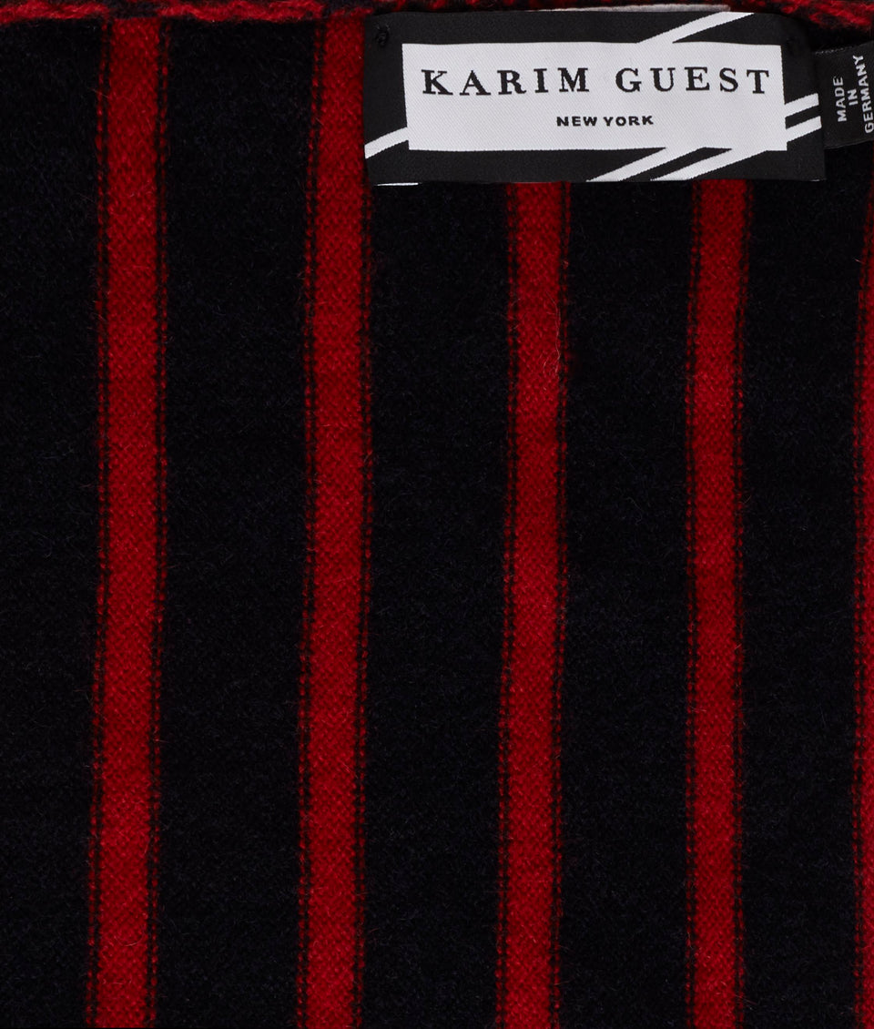 ANDREW SCARF NOTTE-BACCA RED - Karim Guest Onlineshop