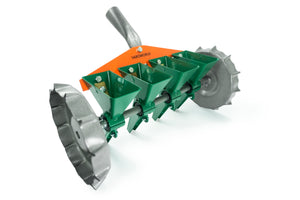 VAROMORUS METAL PRECISION SEEDER VEGETABLE 4-ROW MANUAL PLANTER