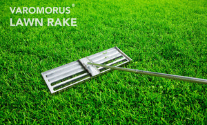"30"" VAROMORUS STAINLESS STEEL LAWN LEVELING TOOL"