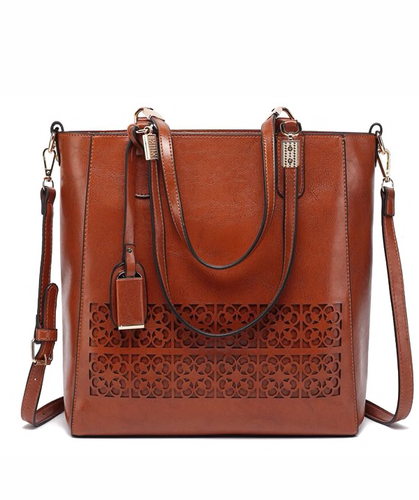 Leather bag -  Joana