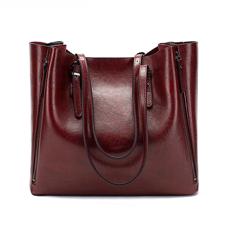 Leather Bag - Cassandra