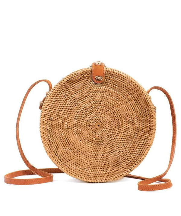 Rattan Bag (Medium)- Thea