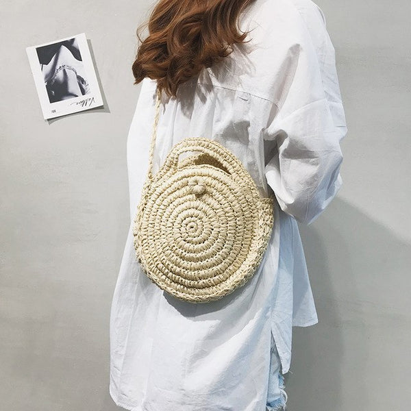Straw Bag - Leah