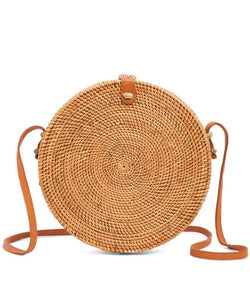 Rattan Bag (Large)- Edith