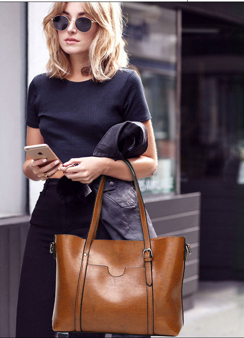 Leather  Bag - Vetta