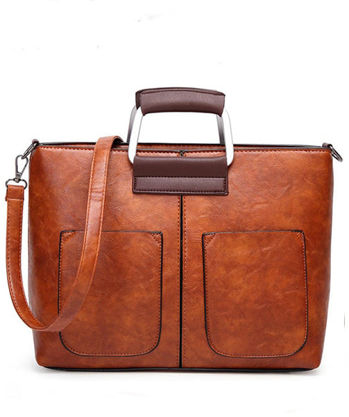 Leather  Bag - Natie