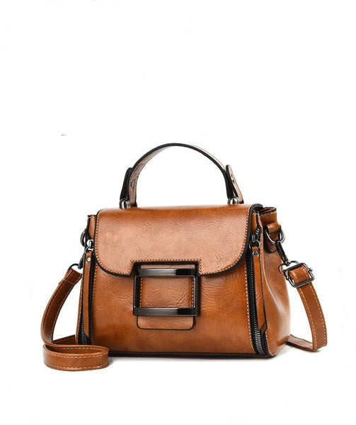 Genuine Leather Bag - Elle
