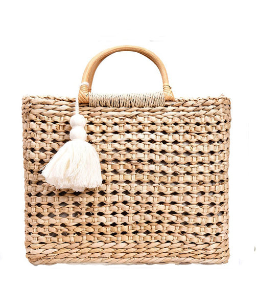 Straw bag - Abbie