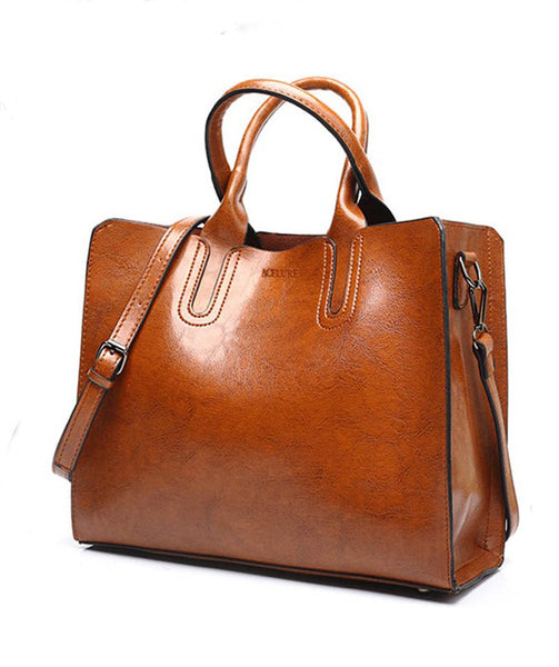 Leather  Bag - Traci
