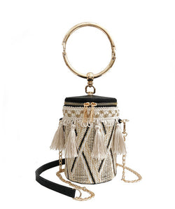 Straw Bag  - Shanon