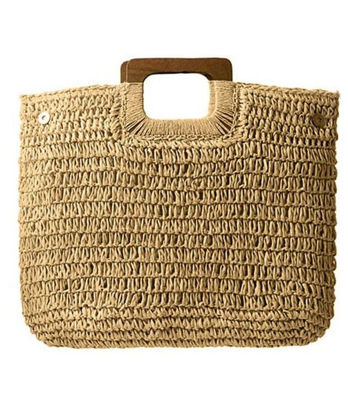 Straw Bag - Avery