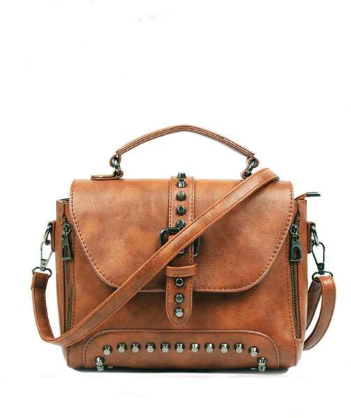 Leather  Bag - Sheila