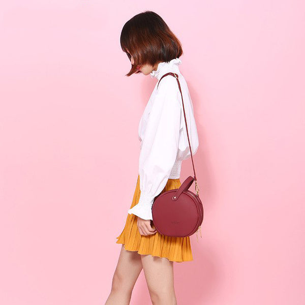 Leather  Bag - Shirlie