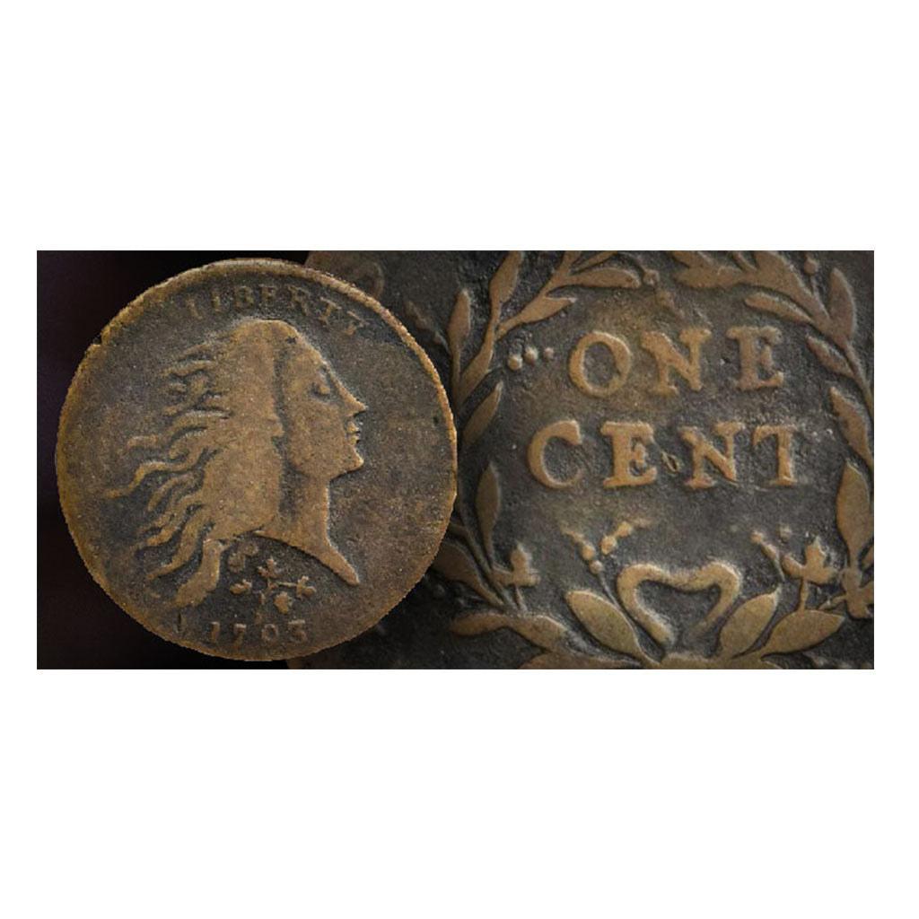 Historic 1793 Strawberry Leaf Cent Could Bring Over Half-Million Dollars at Auction
