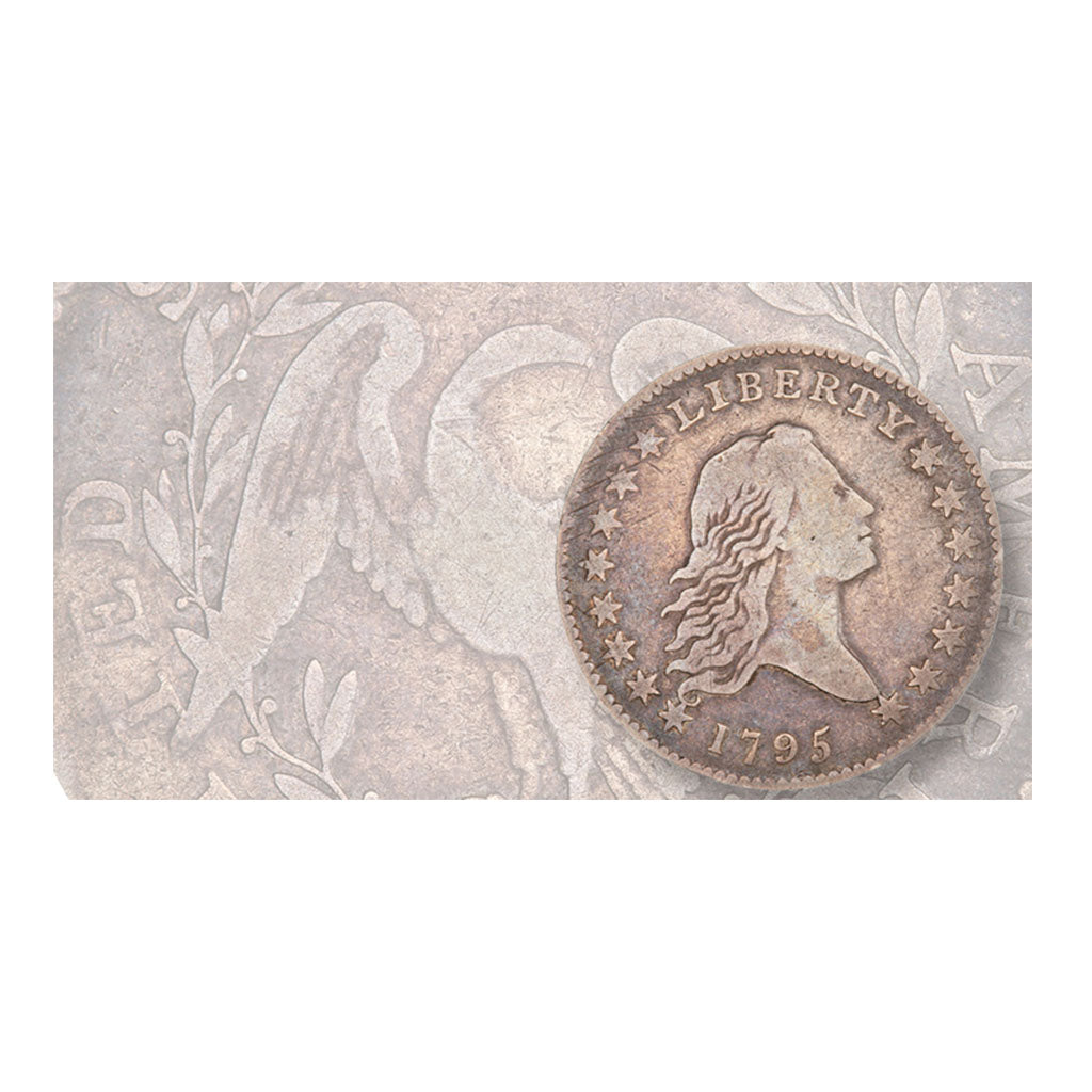 New obverse die for 1795 Flowing Hair half dollar discovered