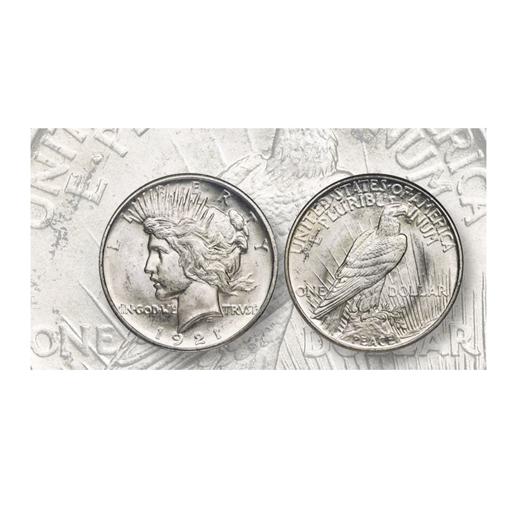 Market Analysis: High Relief 1921 Peace dollar, MS-67, none finer, in Heritage sale