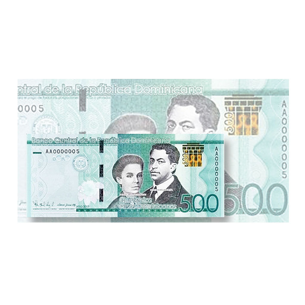 Dominican Republic releases a new 500-peso bank note with added security