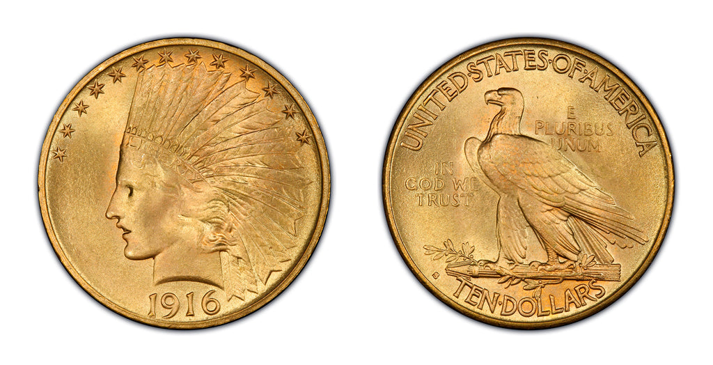$10 Gold Indian Head Eagles