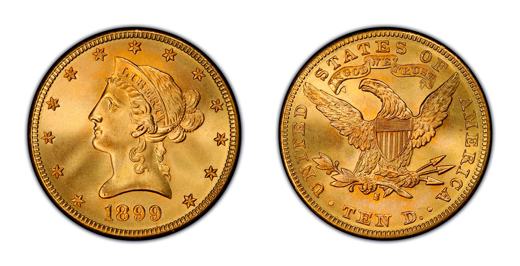 $10 Gold Liberty Head Eagles
