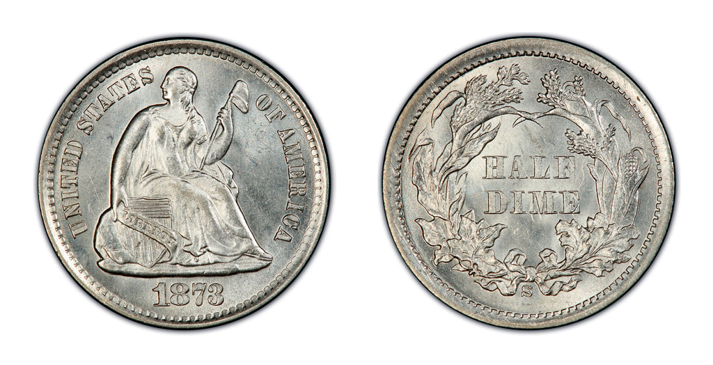 Seated Liberty Half Dimes
