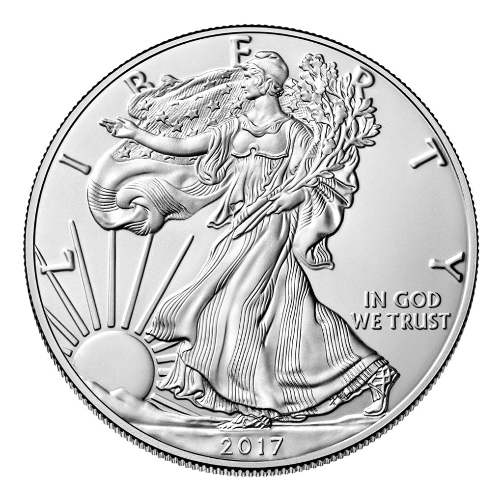 American Silver Eagles (Mint State - Burnished)