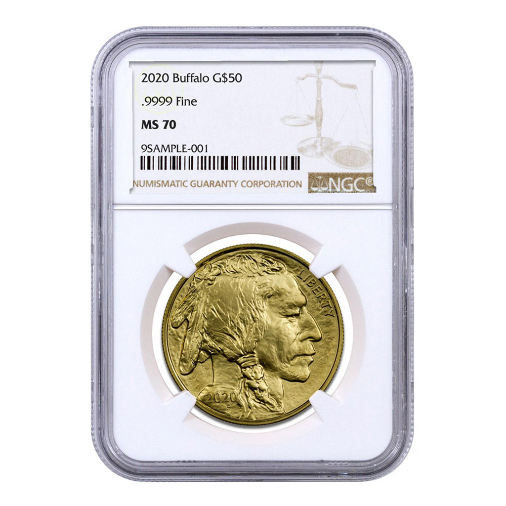 American Gold Buffalos (Mint State - NGC Certified)