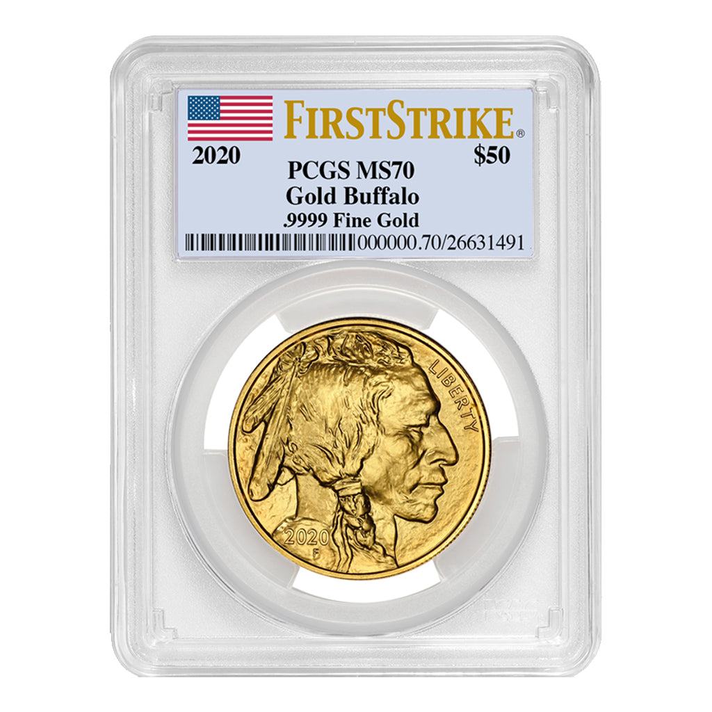 American Gold Buffalos (Mint State - PCGS Certified)