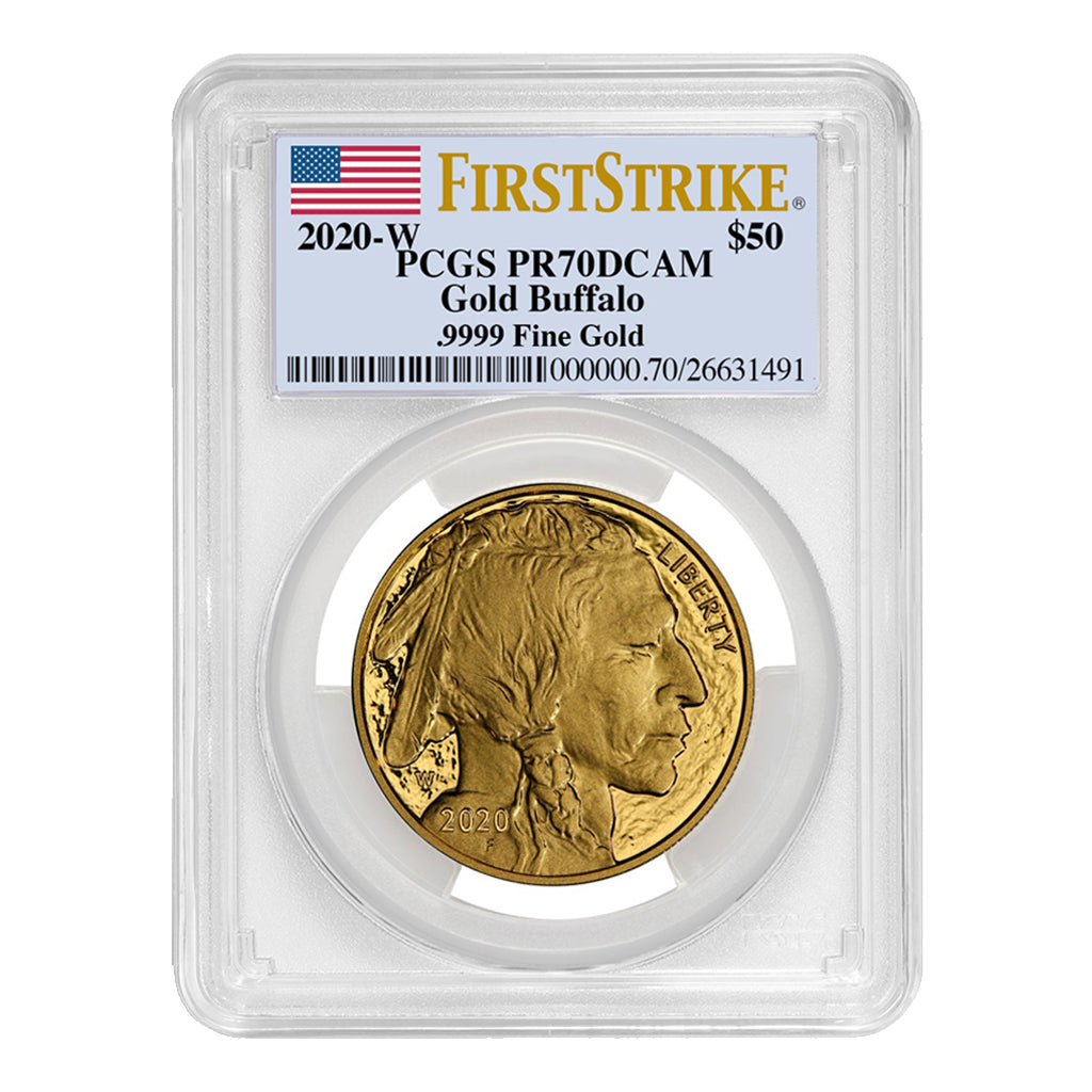 American Gold Buffalos (Proof - PCGS Certified)