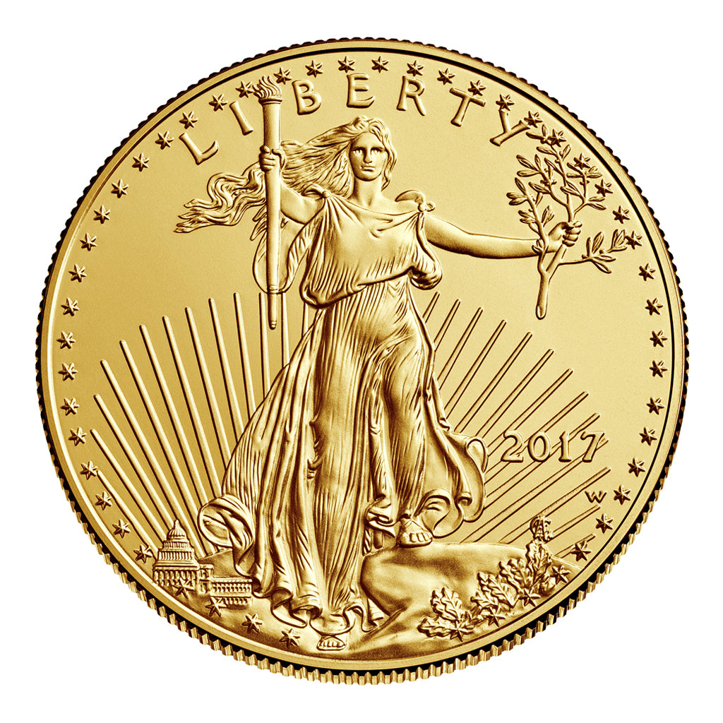 American Gold Eagles (Mint State - Burnished)