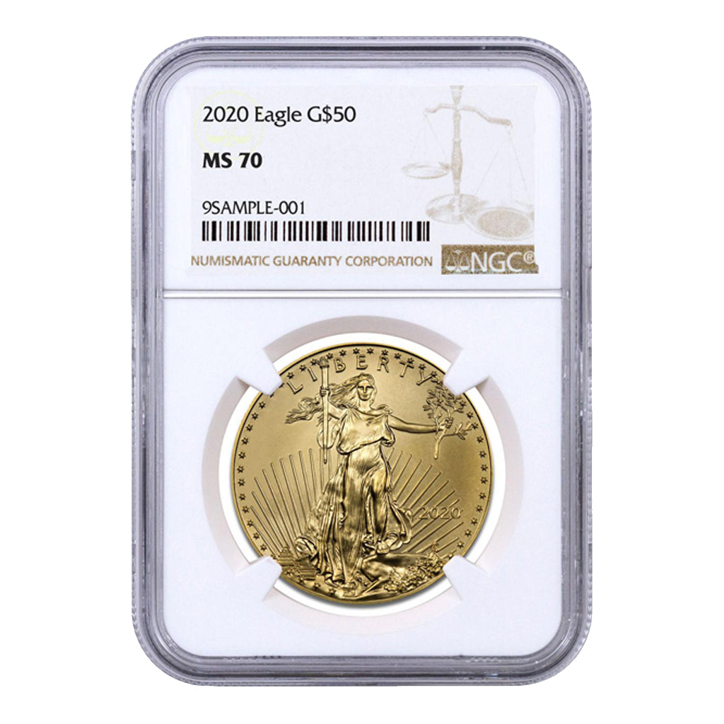 American Gold Eagles (Mint State - NGC Certified)