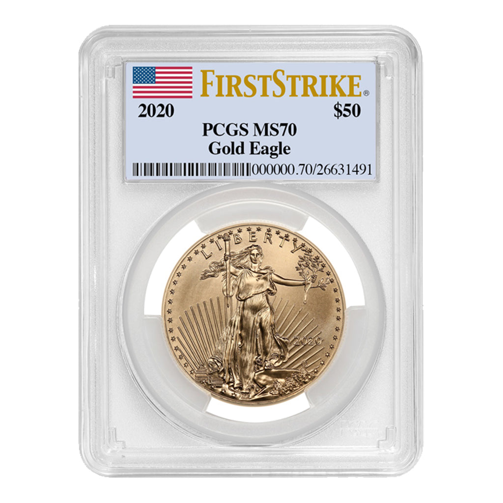 American Gold Eagles (Mint State - PCGS Certified)