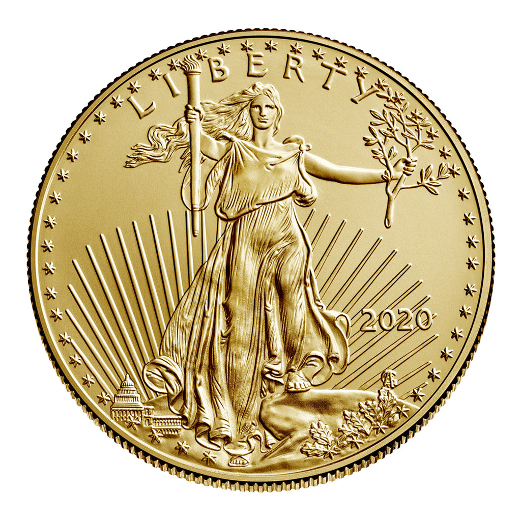American Gold Eagles (Mint State - Bullion)