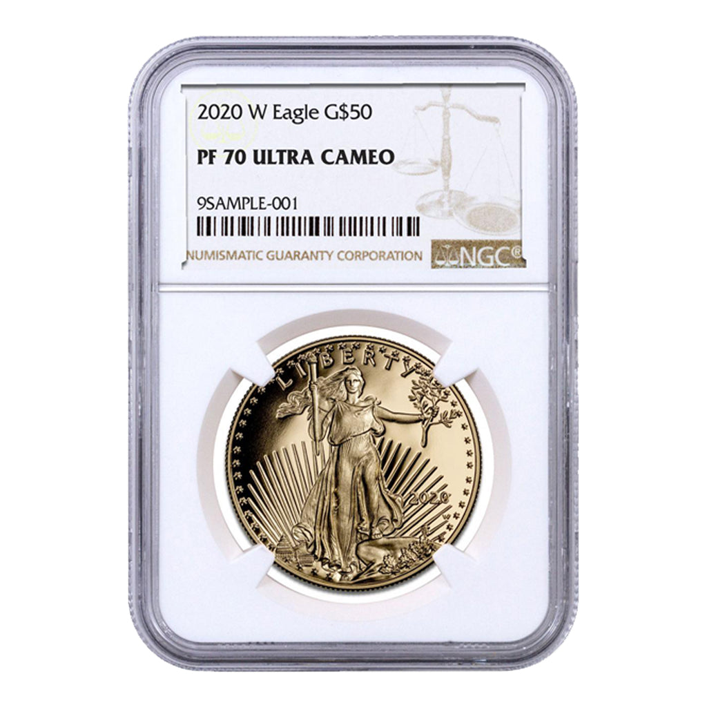 American Gold Eagles (Proof - NGC Certified)