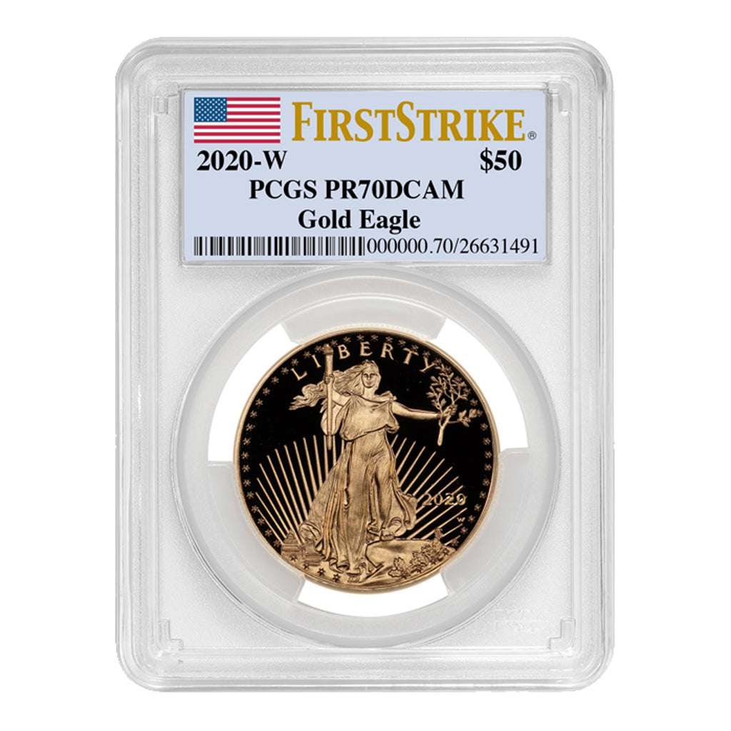 American Gold Eagles (Proof - PCGS Certified)
