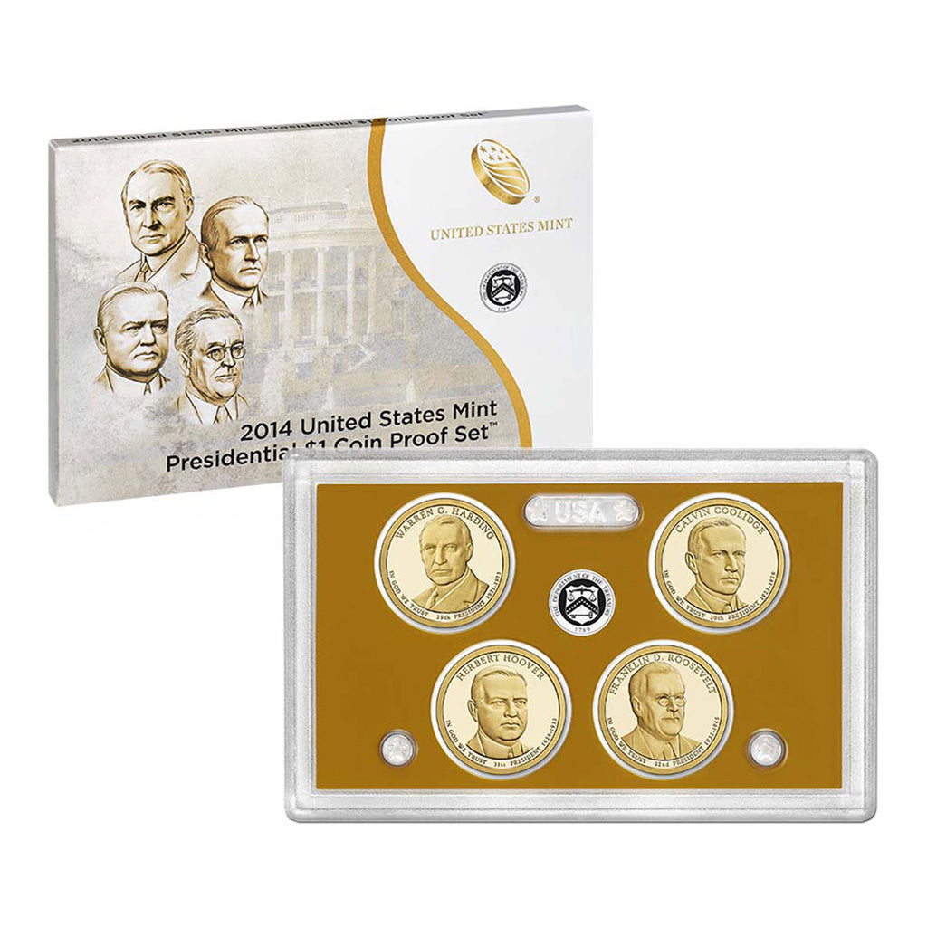 United States Dollar Coin Proof Sets (2007 to Date)