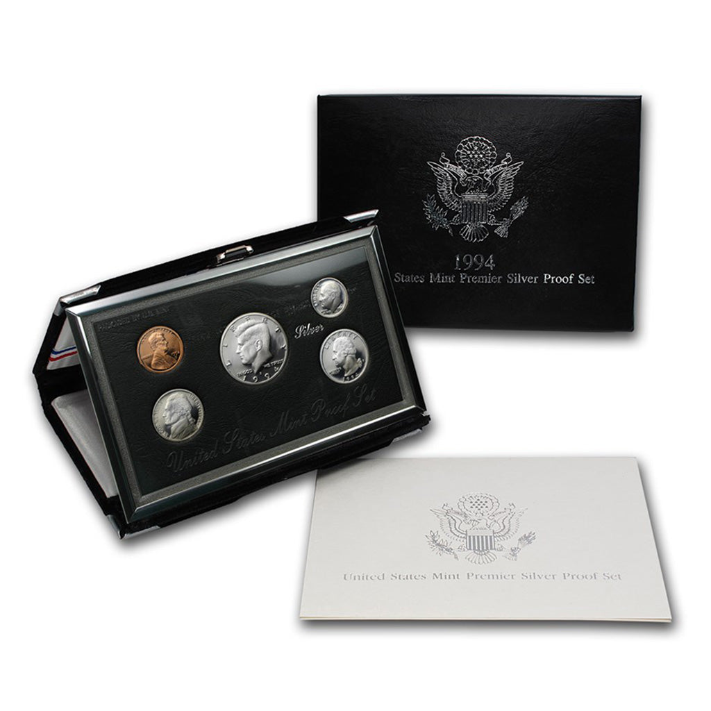 United States Premier Silver Proof Sets (1992 to 1998)