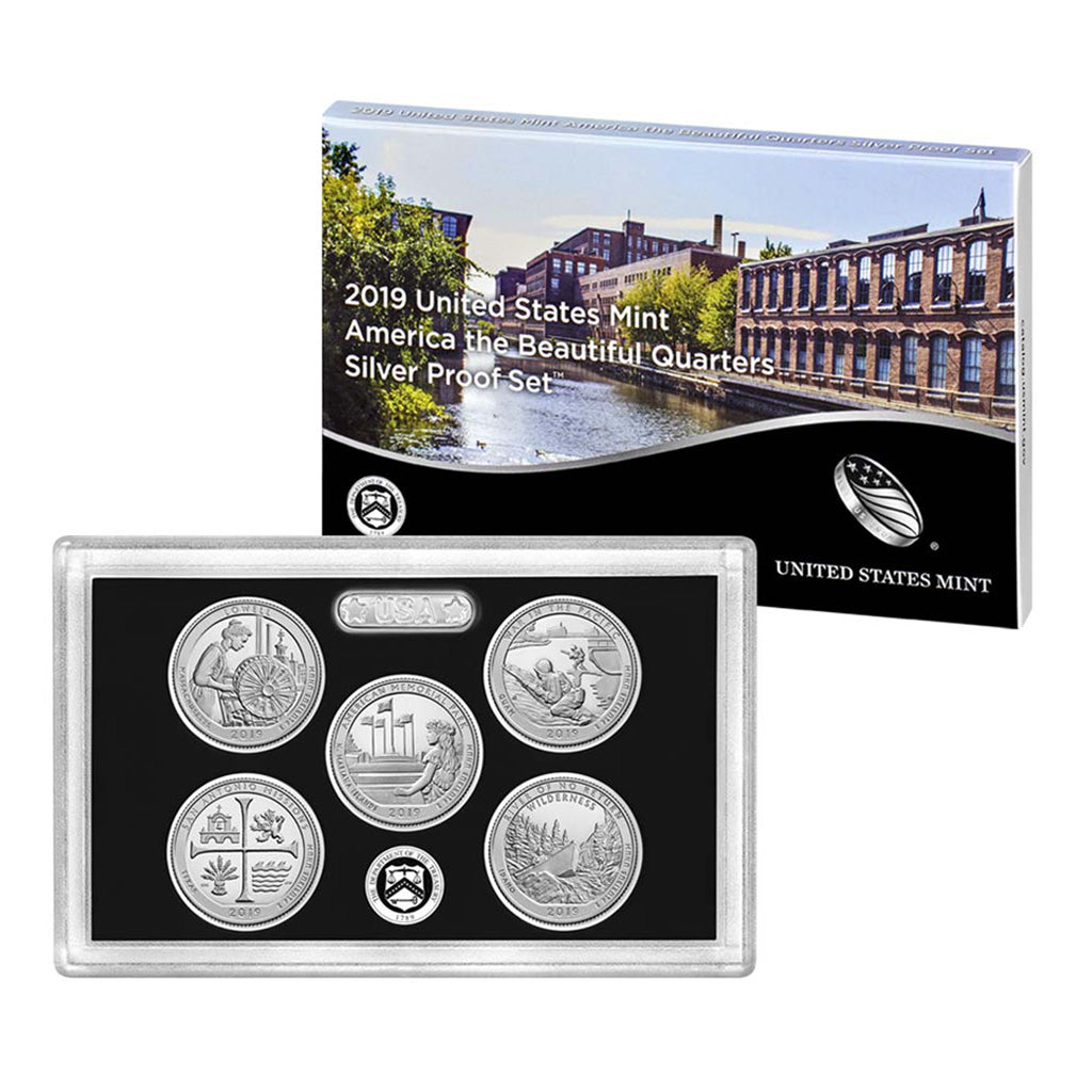 United States Silver Quarter Proof Sets (1999 to Date)