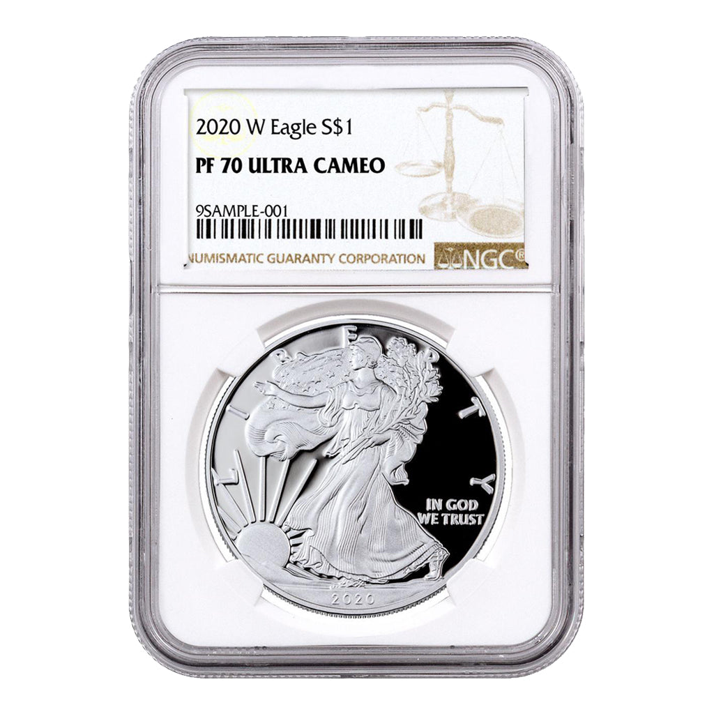 American Silver Eagles (Proof - NGC Certified)