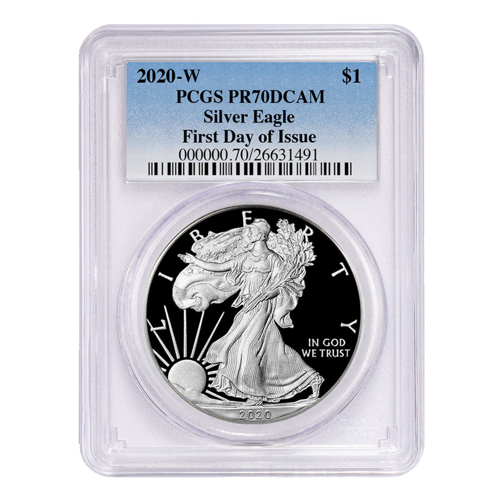 American Silver Eagles (Proof - PCGS Certified)