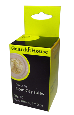 Retail Pack Guardhouse Coin Capsules
