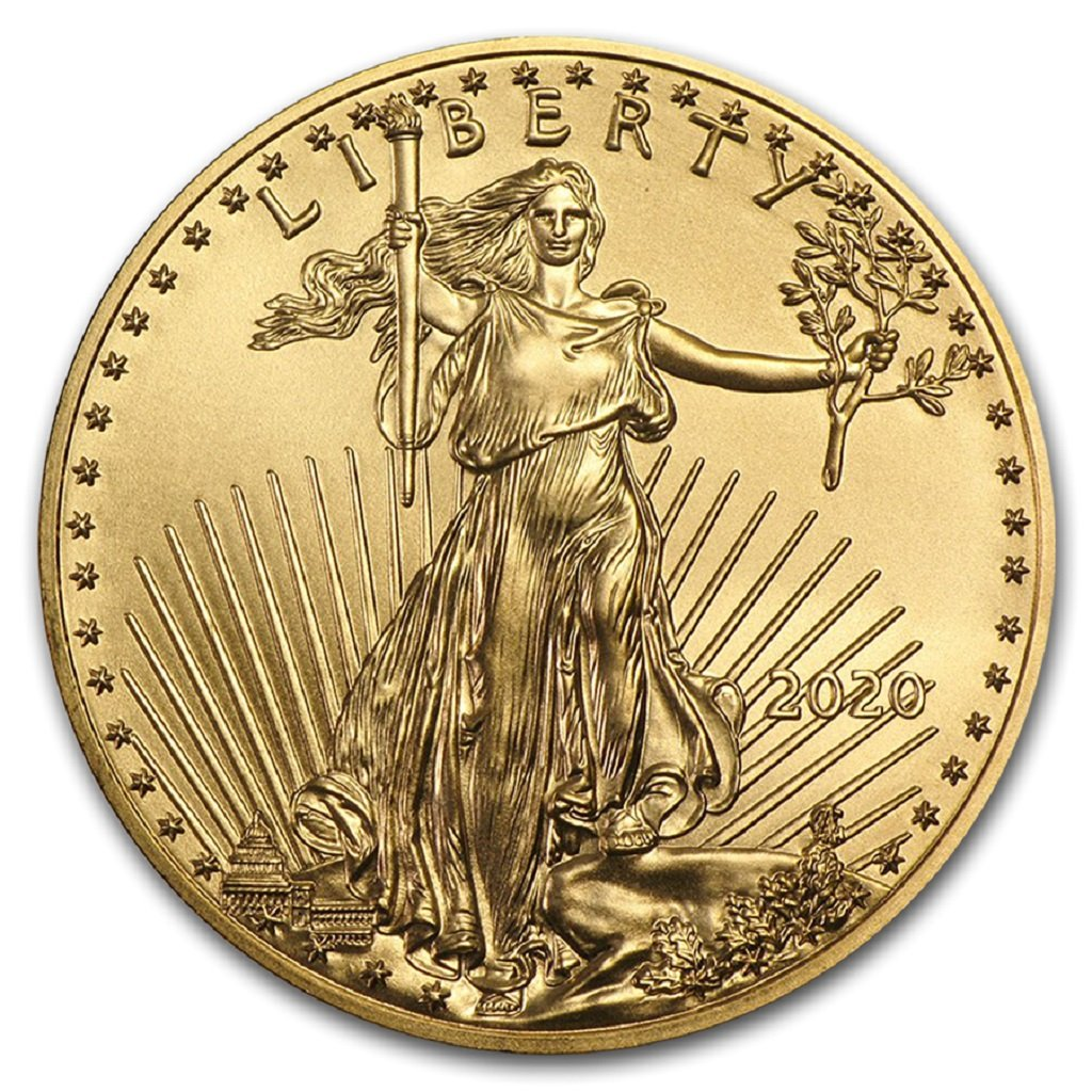 2020 1/4 oz American Gold Eagle Mint State