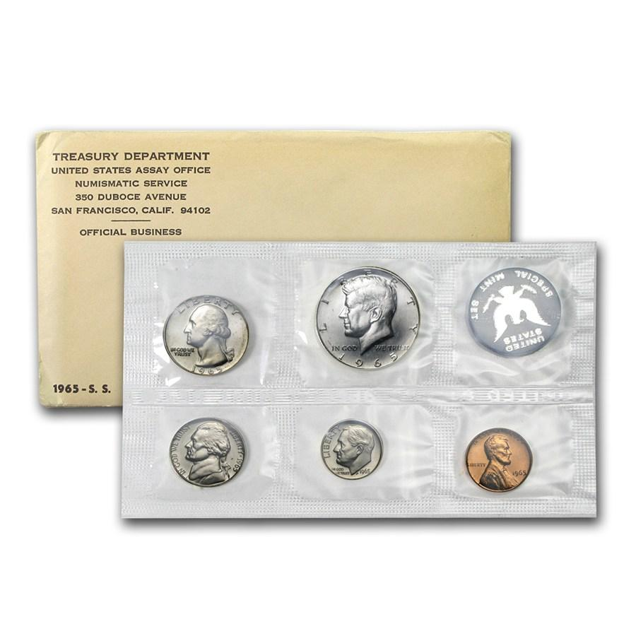 1965 U.S. Uncirculated Set, Special Mint Set