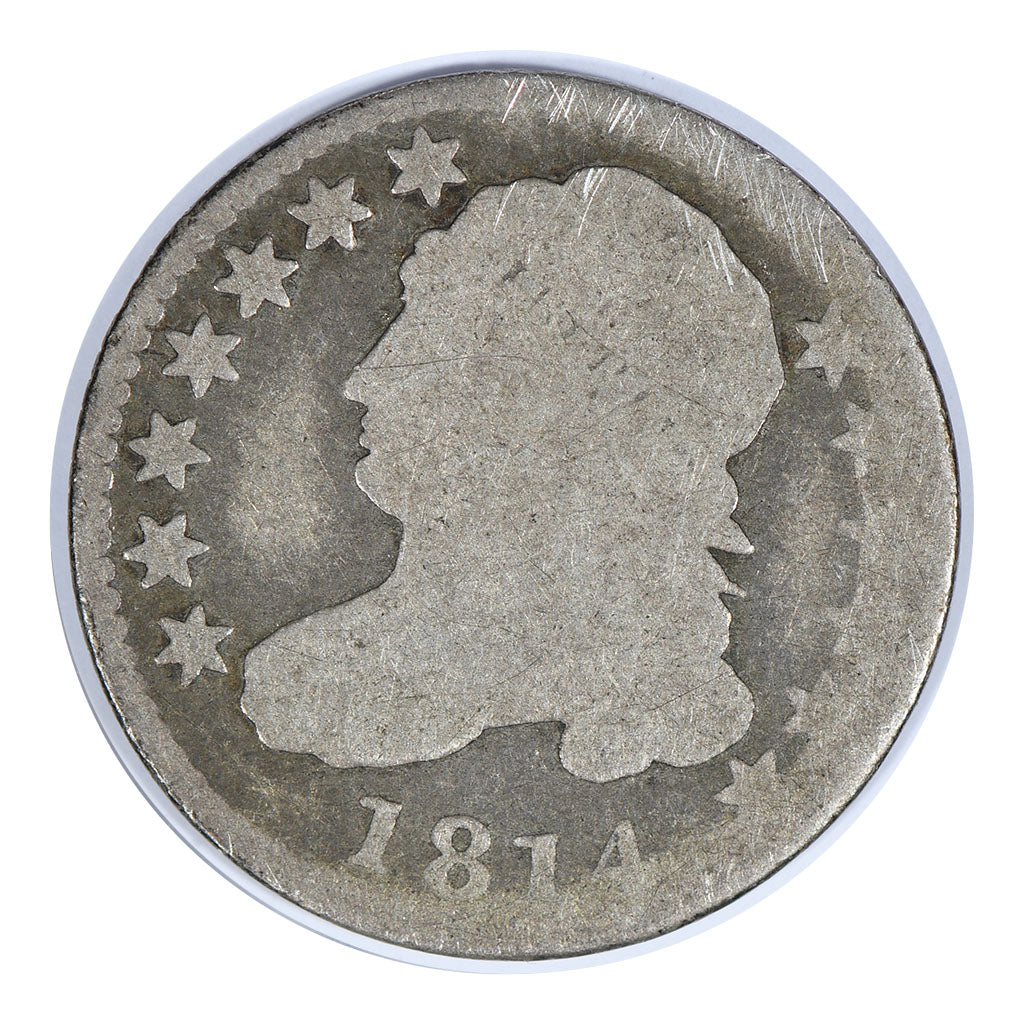 1814 Capped Bust Dime About Good