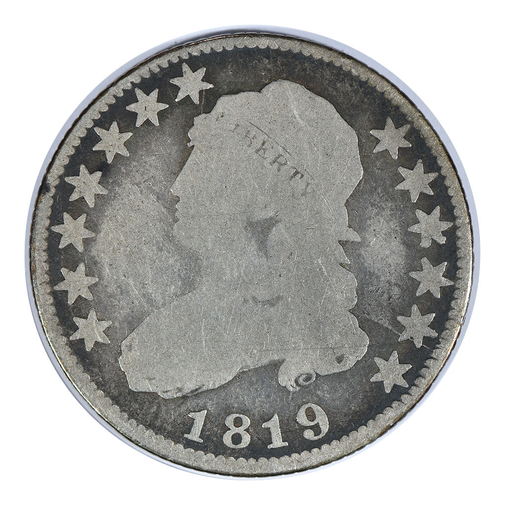 1819 Capped Bust Quarter Good