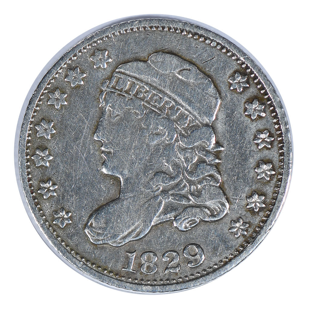 1829 Capped Bust Half Dime Very Fine
