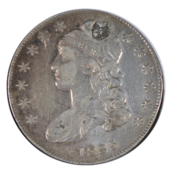 "1835 Capped Bust Half Dollar ""Holed"" Fine Condition #193067"
