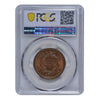 1851 Braided Hair Cent PCGS MS66+BN CAC
