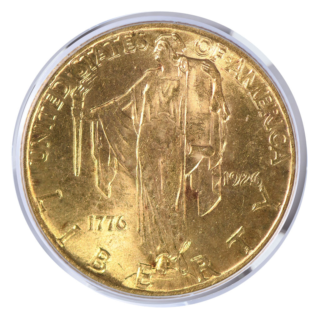 1926 Sesquicentennial Gold Commemorative $2.5 PCGS MS64